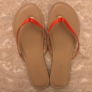 Banana Republic new coral sandals